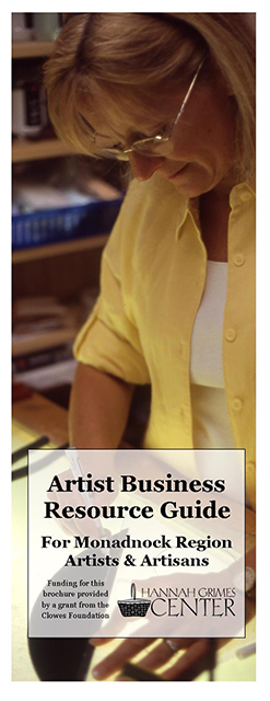 Artist Business Brochure